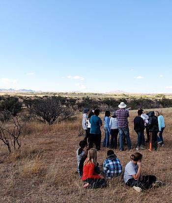 Landscape investigation in action