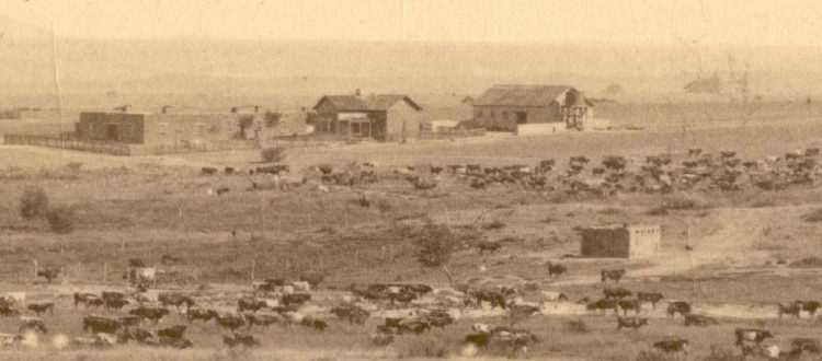 Empire Ranch in the 1880s. Photo courtesy Empire Ranch Foundation.